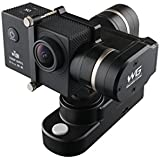 GVB GVB-WG 4k Wide Angle Action Camera & Feiyu WG Wearable Gimbal Bundle (Black)