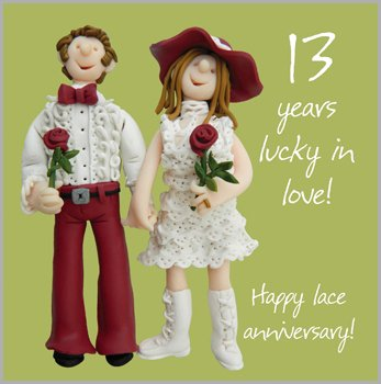 happy 13th anniversary to my husband
