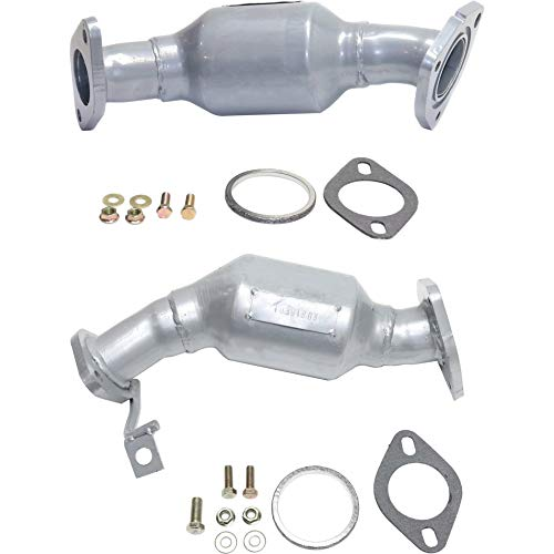 Catalytic Converter compatible with 2012-2013 Buick Enclave Set of 2