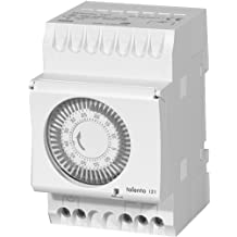 Intermatic Talento 121-120 1-Hour 120V Electromechanical Cycle Timer Switch, DIN Rail Mount