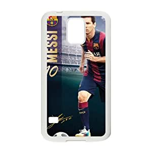 samsung galaxy s5 phone case White for messi poster - EERT3398064