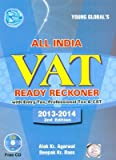 All India VAT Ready Reckoner with Entry Tax, Professional Tax & CST with Free CD (containins forms & schedules, Tariff Rates, of all states of India)