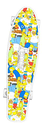 "Penny Skateboards SIMPSON FAMILY GRIP TAPE (Simpson Collage, 27"" Nickel)"