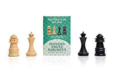 Dragon and Spider - Musketeer Chess Variant Kit - 4 Set - by The House of Staunton