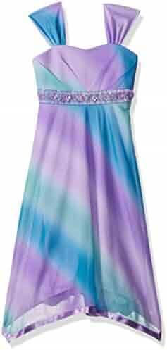 Speechless Big Girls' Ombre Badded Bodice Dress