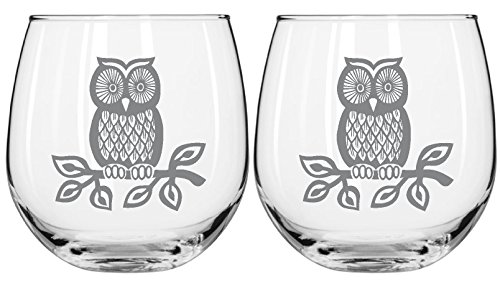 Glasses 16 75 Capacity Owl Capacity Glass Multi Perfect Occasion product image