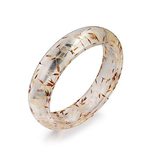 resin flower bracelet - 2