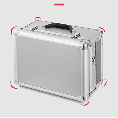 LHT カーステンレスツールボックス多機能携帯家庭用車のハードウェアストレージボックス肥厚ブリキ箱 ツールボックス