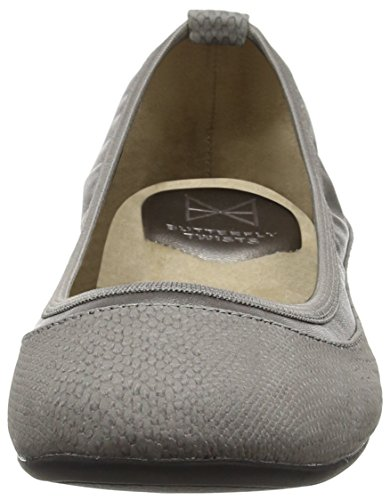 Butterfly Slate Grey Ballerines Hannah Femme Twists rzqCr