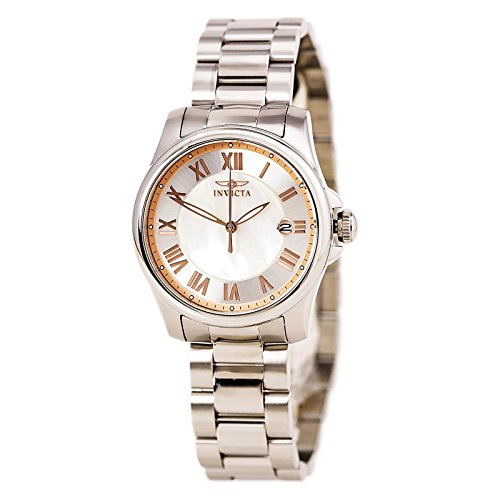 Invicta Angel Mother of Pearl Dial Stainless Steel Ladies Watch 15234 [Watch]...