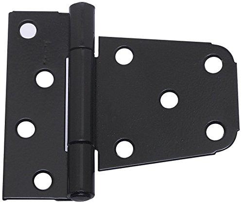 Stanley Steel Hinges (National Hardware N220-129 V287 Extra Heavy Gate Hinges in Black, 2 pack)