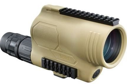 Bushnell Legend T-Series Flp Spotting Scope with Mil-Hash Reticle, 15-45 x 60mm, Tan by Bushnell