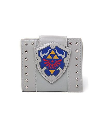 Zelda FEDMW202060ZEL Hylian Shield Fold Over Wallet