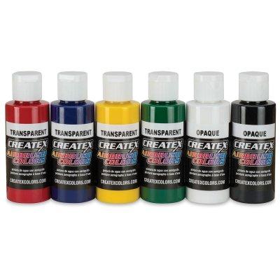 Blue Transparent Paint - Createx 5106-PT Createx Brite Blue Transparent Airbrush Color CREATEX TRANSPARENT 16 OZ.