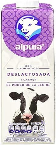 Alpura, 2000 Leche Deslactosada, Paquete de 12, 1 litros