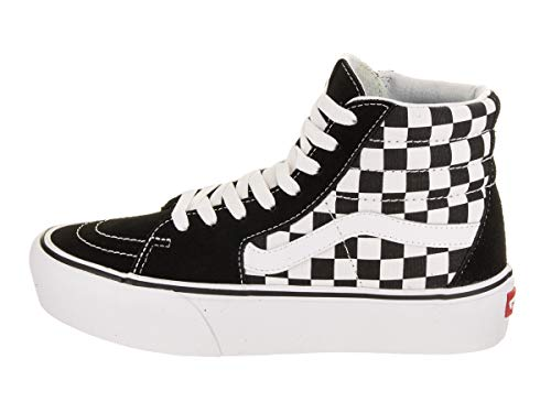 Platform 2 Checkerboard Black 0 Sk8 True hi Vans White qEwxB1tC