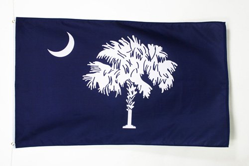 - AZ FLAG South Carolina Flag 2' x 3' - US State of Caroline du Sud Flags 60 x 90 cm - Banner 2x3 ft
