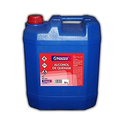 Alcohol de Quemar | Enérgica acción desengrasante | Combustible para el encendido de barbacoas y chimeneas