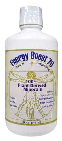 Morningstar Minerals Energy Boost 70 Mineral Supplement, 32 oz (946 ml)