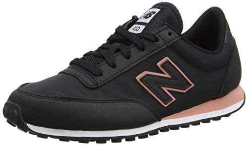 Nuovo Equilibrio Damen 410 Sneaker Schwarz (nero / Rosa)