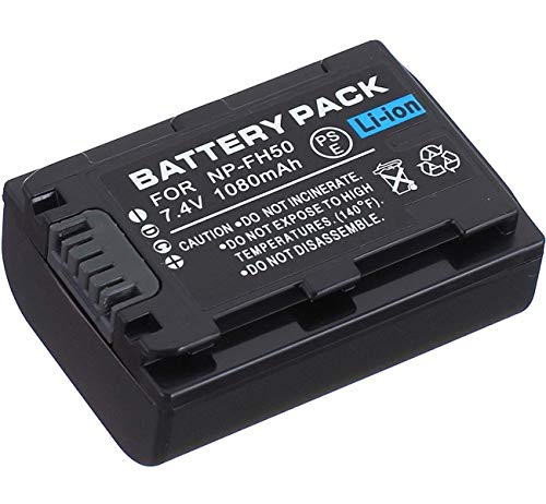(Battery Pack for Sony NP-FH30, NP-FH40, NP-FH50, NP-FH60 InfoLITHIUM H Series)