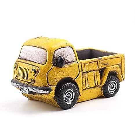 Nicole Molde de concreto de silicona Plantas suculentas Forma de camión Maceta Fabricación de moldes Herramienta DIY Craft: Amazon.es: Juguetes y juegos