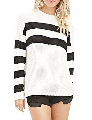 Acrylic Crewneck Sweater - 6