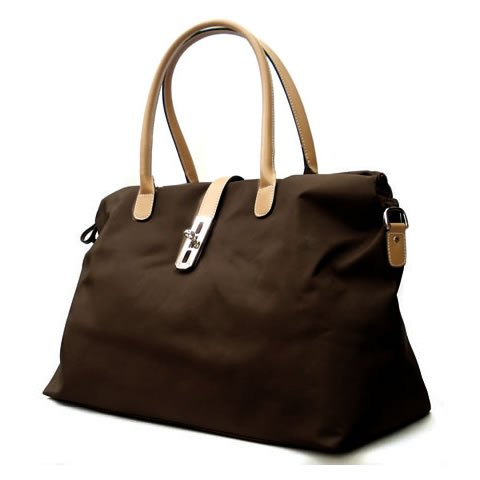 Oversized Tosca Tote Handbag – Choice of Colors (Brown), Bags Central