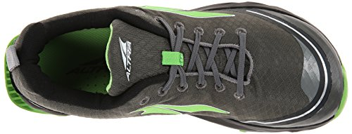 Altra Running Mens Superior 2 Trail Running Shoe, - Gray/Green, 8 D(M) US