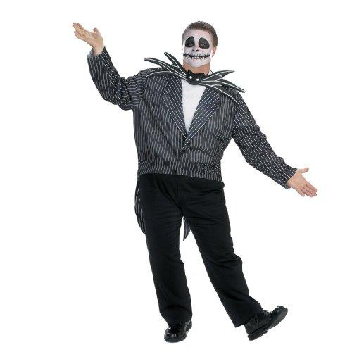 Jack Skellington Plus Size Adult Costume - XX-Large
