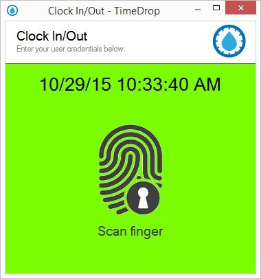 Employee Time Clock Software and Fingerprint Scanner, Time Attendance Tracker, Unlimited User Profiles, No Monthly Fees, Incl. Support and Updates, Digital 4500 Series Scanner, TimeDrop by LotHill by LotHill Solutions, LLC (Image #3)