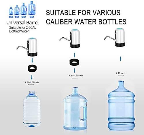 DLOPK Dispensador de bomba de agua Distribuidor de carga USB, extraíble y conveniente para usar en agua embotellada Blanco: Amazon.es: Hogar