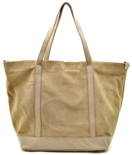 Bag Mano My Modello A Borsa Chiaro Shopping Oh Irupu Taupe Nubuck Donna x5IdqIn