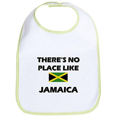Cafepress   Flag Of Jamaica Bib   Cute Cloth Baby Bib  Toddler Bib