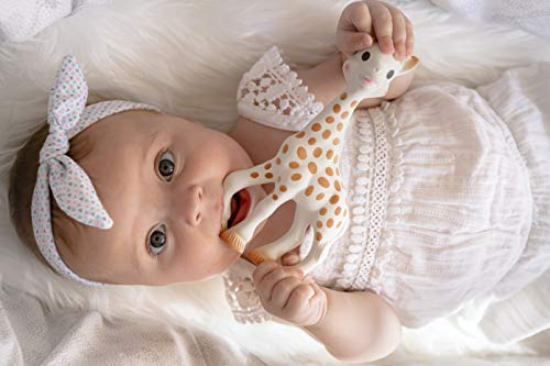 41cLFZ9%2B%2BAL - Vulli Sophie The Giraffe New Box, Polka Dots, One Size