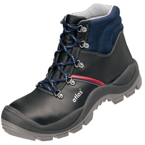 noir 2004 Atlas Anatomic Chaussures ISO 20345 de norme bleu EN 500 sécurité Bau S3 F7nFxwAqv6