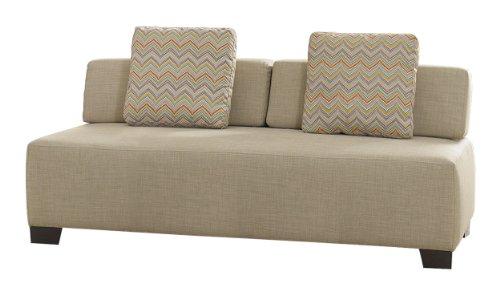 Homelegance 8507BE-3 Upholstered Sofa, Oatmeal Fabric