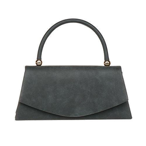 Classic Black Clutch Bag - 7