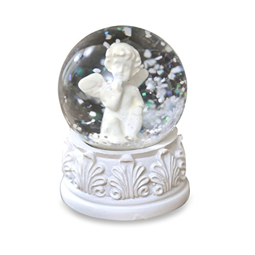 Pajoma 14273 Snow Globe Angel Ornament, Height 6 cm