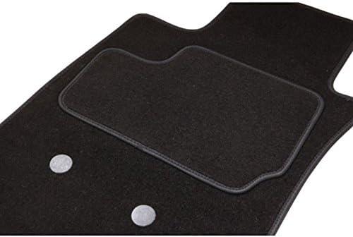 Fußmatten Typ S, 2 vorne + 2 hinten, Schwarz Produktreihe Teppich ETILE