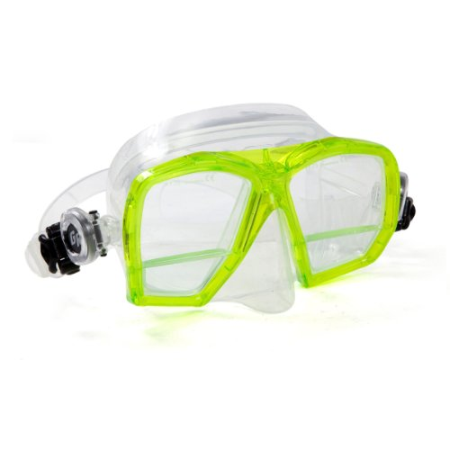 Price comparison product image XS Scuba MA290 Bifocal Gauge Reader Mask with Magnifier lens (Yellow)
