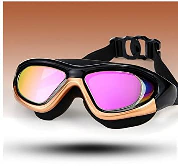 3d6264c42fc Seve7 Swimming goggles Adult Swimming Goggles Diving Mask Anti-Fog Movement  Large Frame Waterproof Swimming Glasses Anti-Fog No Penetration Clear  Vision Uv ...