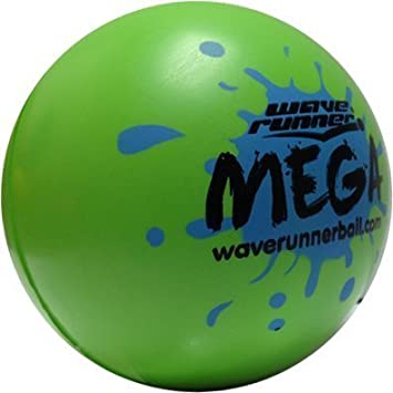 Wave Runner Mega Ball - Pelota de Agua, Color Verde: Amazon.es ...