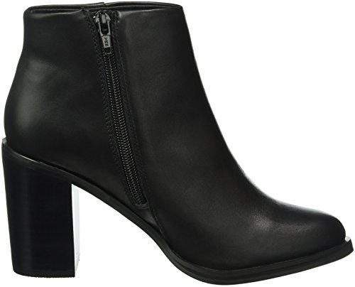 Buffalo Damen 14b57-4 Nappa Leather Kurzschaft Stiefel Schwarz (Black 01)