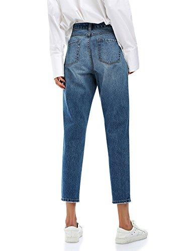 Femme Patalon Femme Et Sexy Dchir Denim Et Troue Bleu Coton STYLE Jean Vintage Femme ZAN Legging Pantalon Slim 80H4wW7
