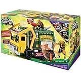 Giochi Preziosi - Tartarughe Ninja, Teenage Mutant Turtles Fuori Dall'Ombra : Camion Giocattolo da Battaglia Garbage Truck con Braccia Meccaniche