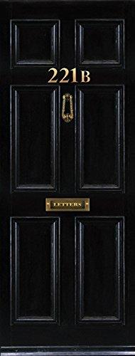 Amazon.com Door Wall Fridge LAMINATED STICKER London Baker st. 221b mural decole film self-adhesive poster 30x80 (77x203 cm) Posters u0026 Prints & Amazon.com: Door Wall Fridge LAMINATED STICKER London Baker st ... pezcame.com
