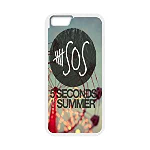 5SOS Hard Rubber Cell Cover Case for iphone 6 4.7 phon case AML768484