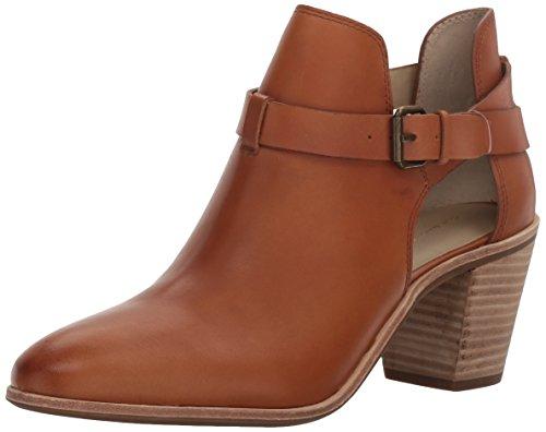 G.H. Bass 2qv6havLCp Women's Sylvia Ankle Bootie, Black Cognac