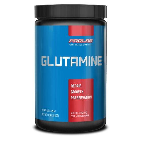 Poudre ProLab Glutamine Pure, 300g + 100g gratuit